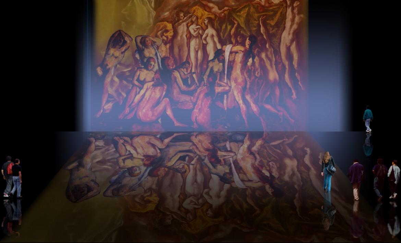 Ensamble Coreográfico, de Doménikus Theokópoulos, el Greco, (1600), Edgar Degas (1880), Auguste Renoir (1886), Paul Cézanne (1900), Pablo Picasso (1908).