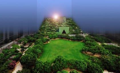 Fukuoka, ministerio con parque piramidal Emilio Ambász, realizador de utopía