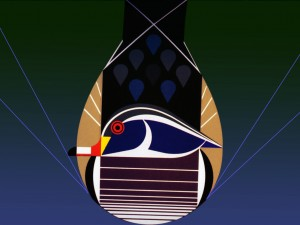 Charley Harper poesía geométrica